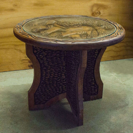Big 5 African Elephant Side Table - Africa Handmade