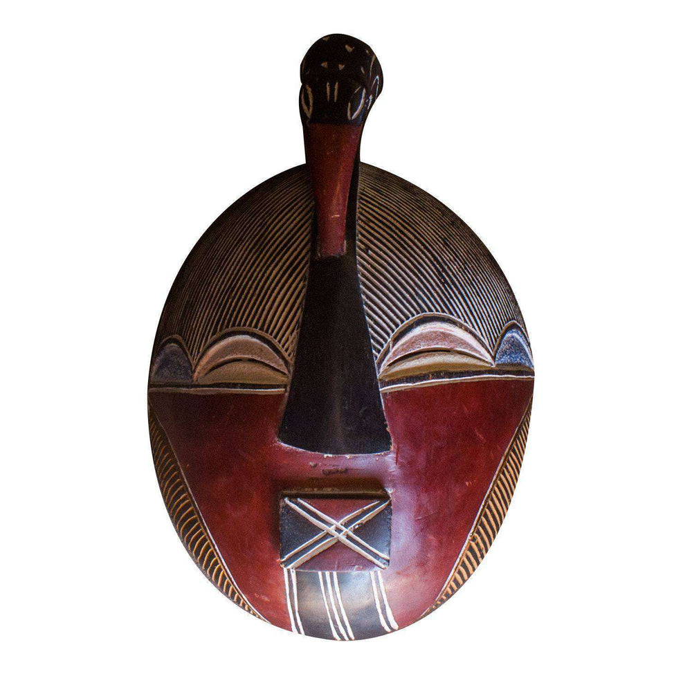 Dancing Tribal Mask Songwe Tribe - Africa Handmade