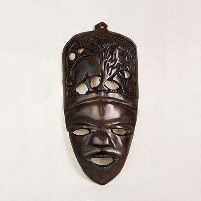 Ebony Wood Mask Small - Africa Handmade