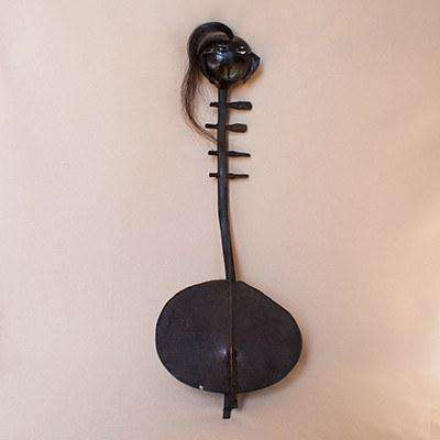 Kenyan Curtan Musical Instrument Display - Africa Handmade