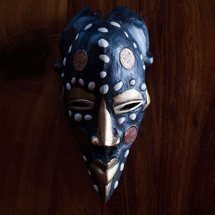 Passport Mask from Cameroon - Africa Handmade