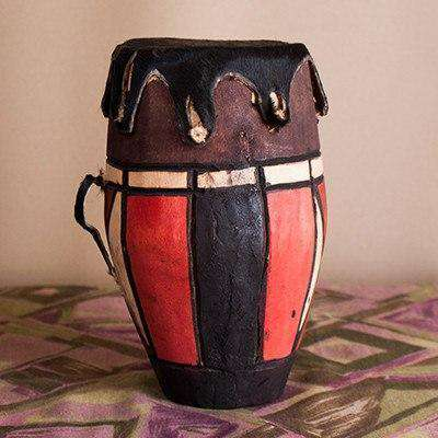 Swaziland Drums Display (Small & Medium Combo) - Africa Handmade