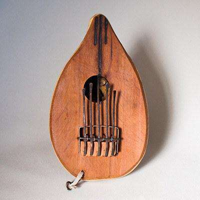 "Thumb Piano ""Mbira"" Musical Instrument Small Display - Africa Handmade"