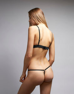 Black Ice String Thong