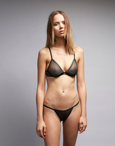 Black Ice Underwire Bra
