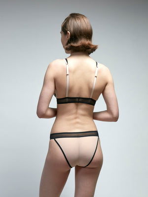 Borderline Mesh String Bikini Panty