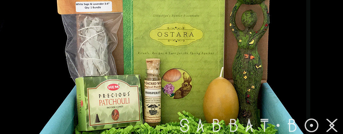 Shop Pagan Supplies From Past Ostara Sabbat Boxes