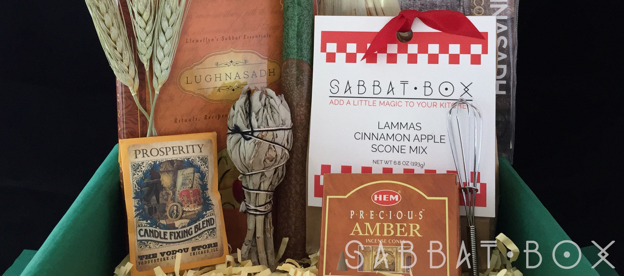 Products From The Lammas Sabbat Box