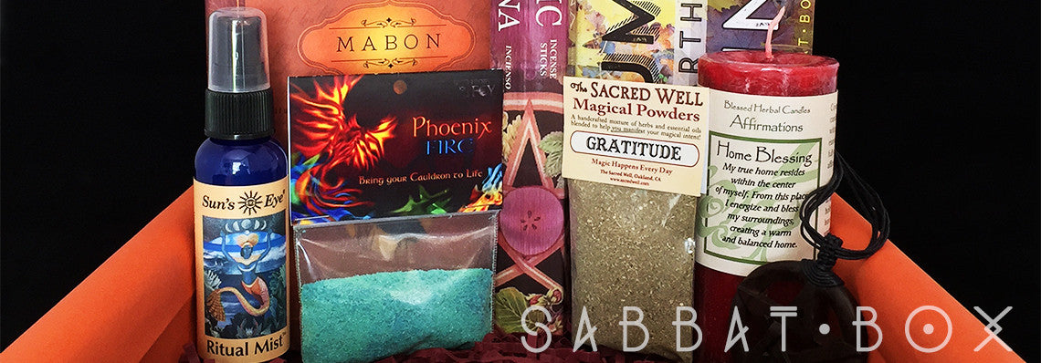 Products From The Mabon Sabbat Box