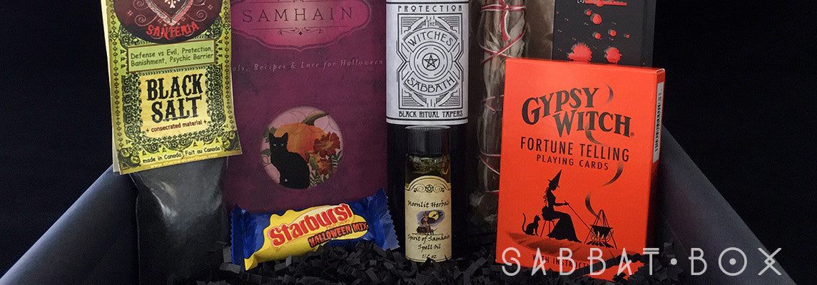 Products From Previous Samhain Sabbat Boxes