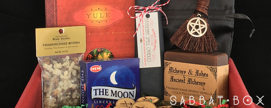 Products From The Yule Sabbat Box