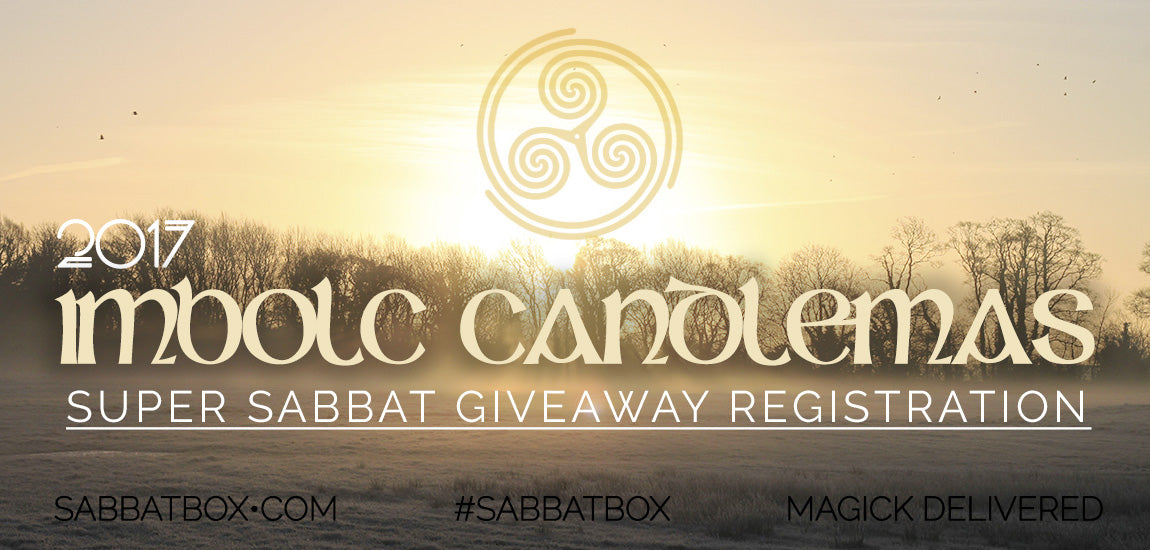2017 Imbolc Sabbat Box Super Sabbat Giveaway Registration