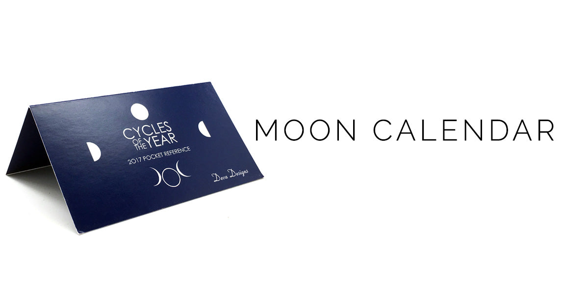 2017 Moon Calendar - Cycles of the Year Moon Calendar