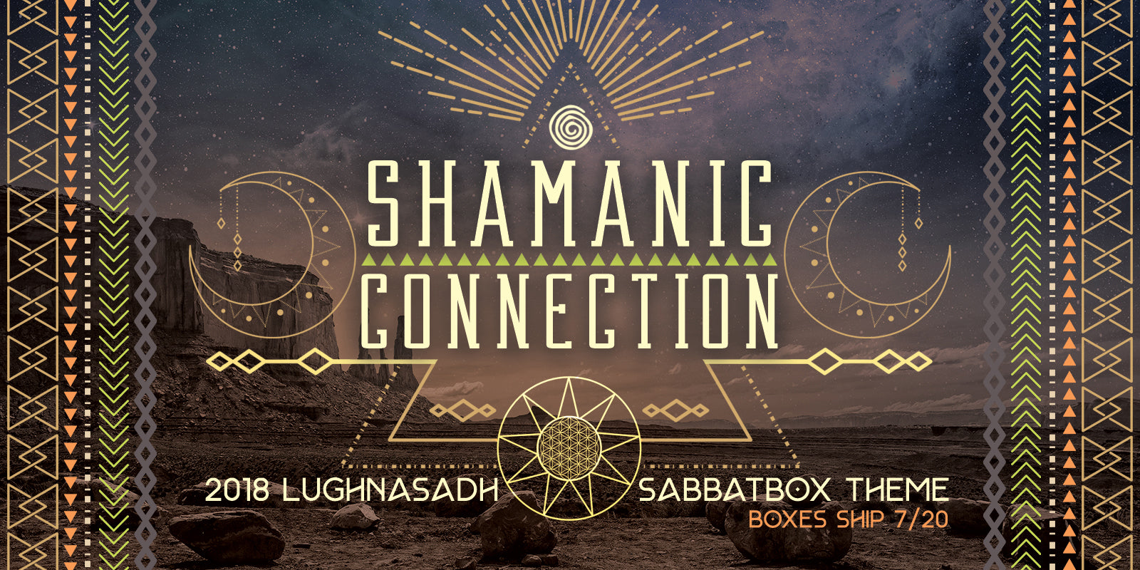 2018 Lammas Lughnasadh Sabbat Box - Shamanic Connection