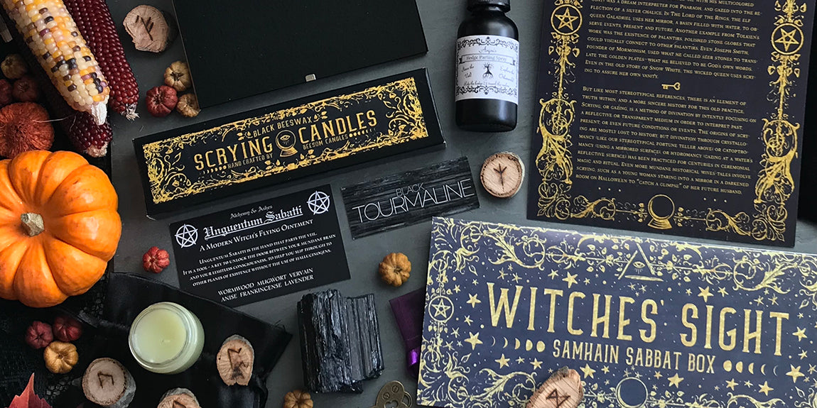 2018 Samhain Sabbat Box - Witches' Sight - Wiccan Subscription Box Pagan Subscription Box