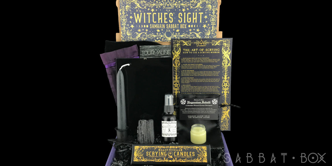 2018 Samhain Sabbat Box - Witches' Sight - Witch Subscription Box Wiccan Subscription Box Pagan Subscription Box