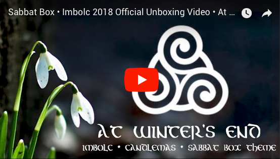 2018 Imbolc Sabbat Box Unboxing Video