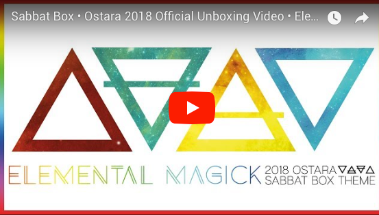 2018 Ostara Sabbat Box Unboxing Video For The Elemental Magick Sabbat Box
