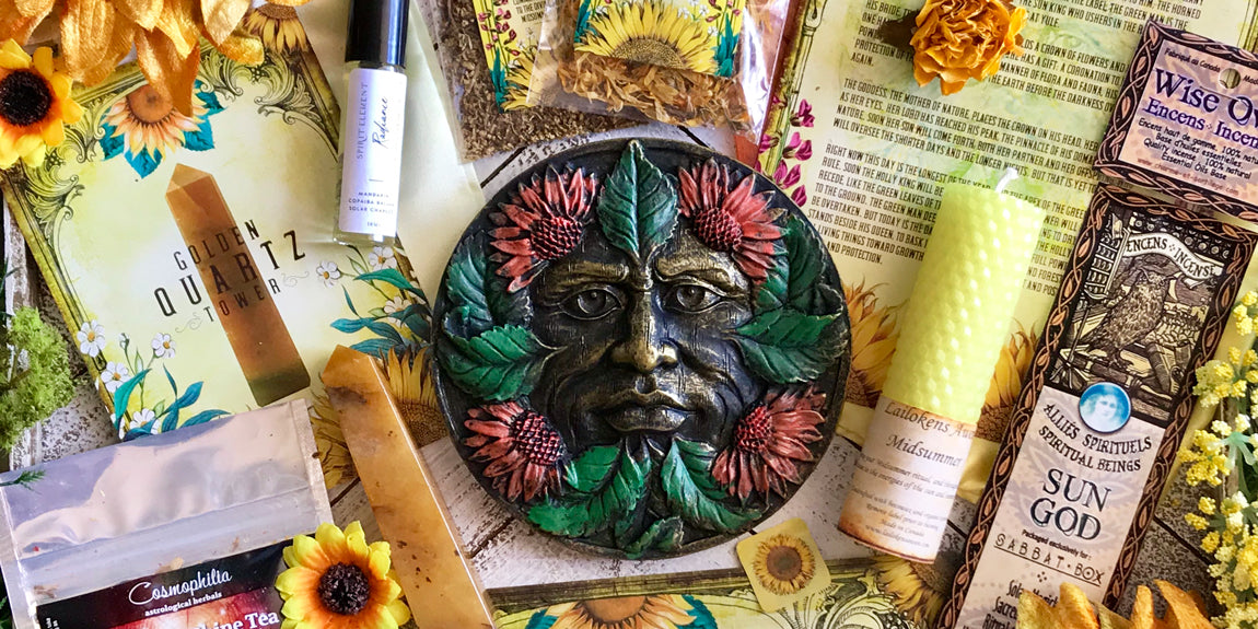 2019 Midsummer Sabbat Box - Solar Embrace - Shop the Midsummer Box Here