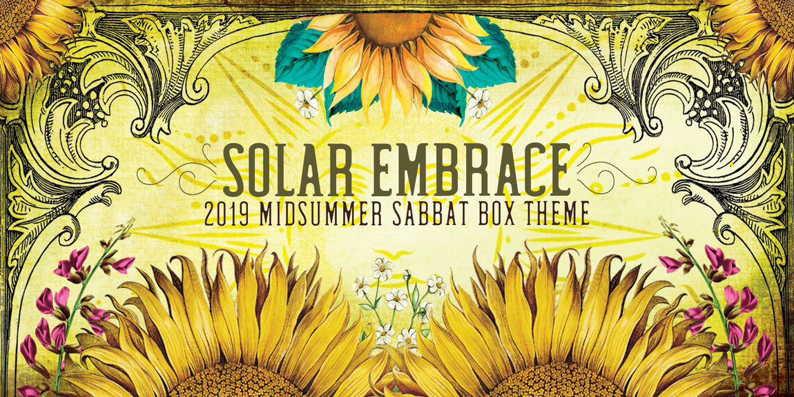2019 Midsummer Sabbat Box - Solar Embrace - Witch Subscription Box Wiccan Subscription Box Pagan Subscription Box