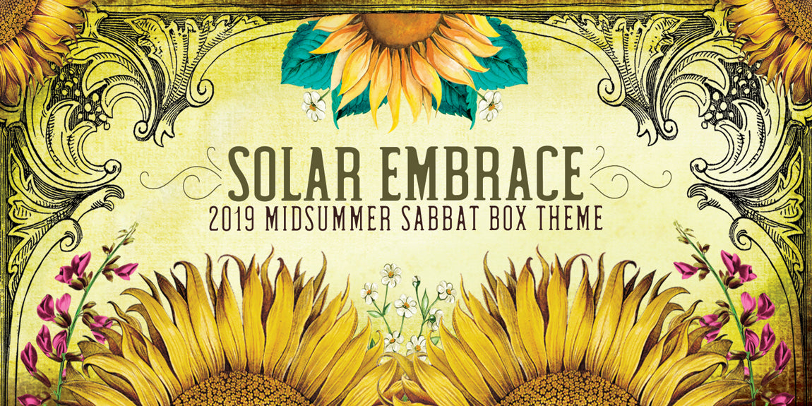 Solar Embrace 2019 Midsummer Sabbat Box Theme
