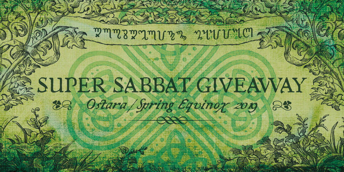 Ostara 2019 • Super Sabbat Giveaway Registration