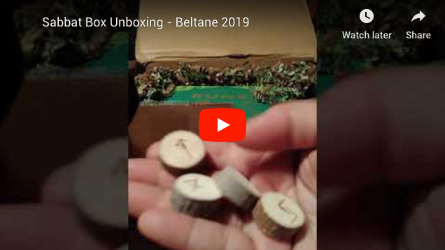 2019 Beltane Sabbat Box Super Sabbat Giveaway Winner