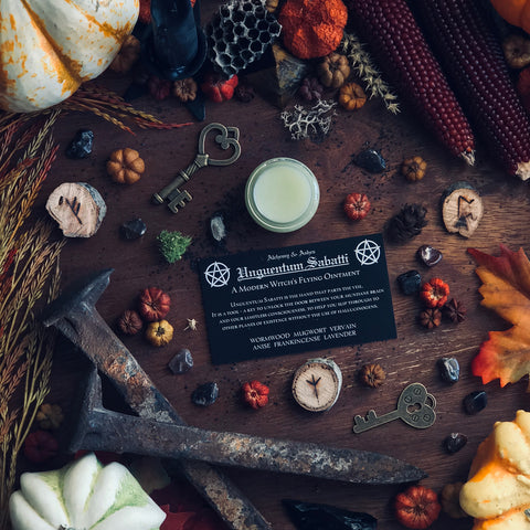 Witches Flying Ointment By Alchemy and Ashes - Sabbat Box
