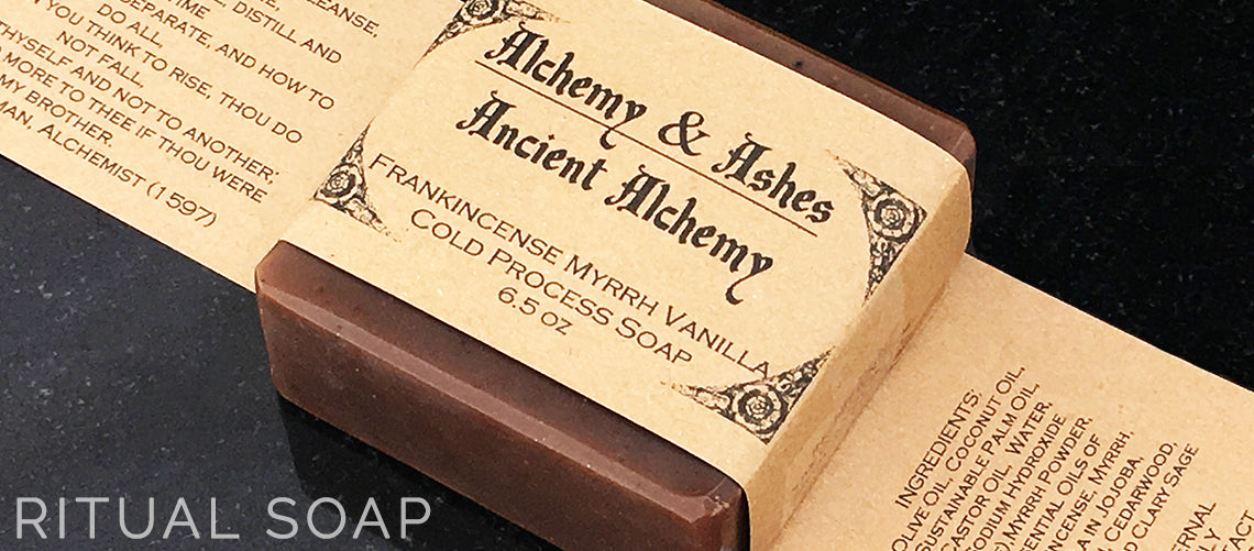 Ancient Alchemy Frankincense and Myrrh Handmade Ritual Soap