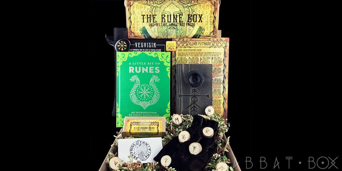 2019 Beltane Sabbat Box - The Rune Box