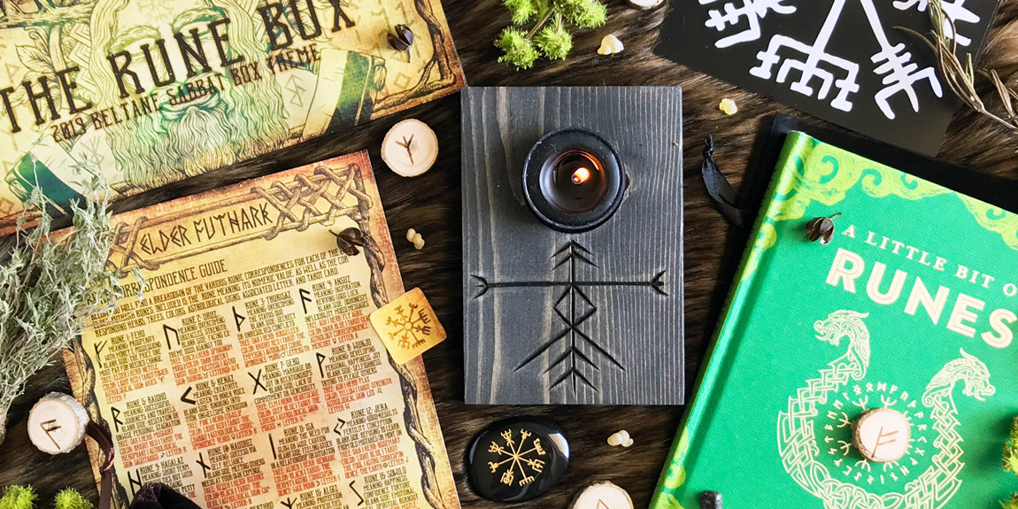 2019 Beltane Sabbat Box - The Rune Box - Shop The Beltane Box Here