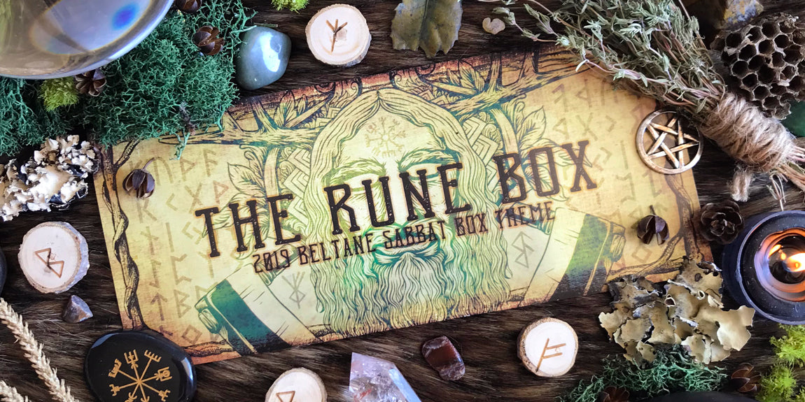 2019 Beltane Sabbat Box - The Rune Box - Witch Subscription Box Pagan Subscription Box