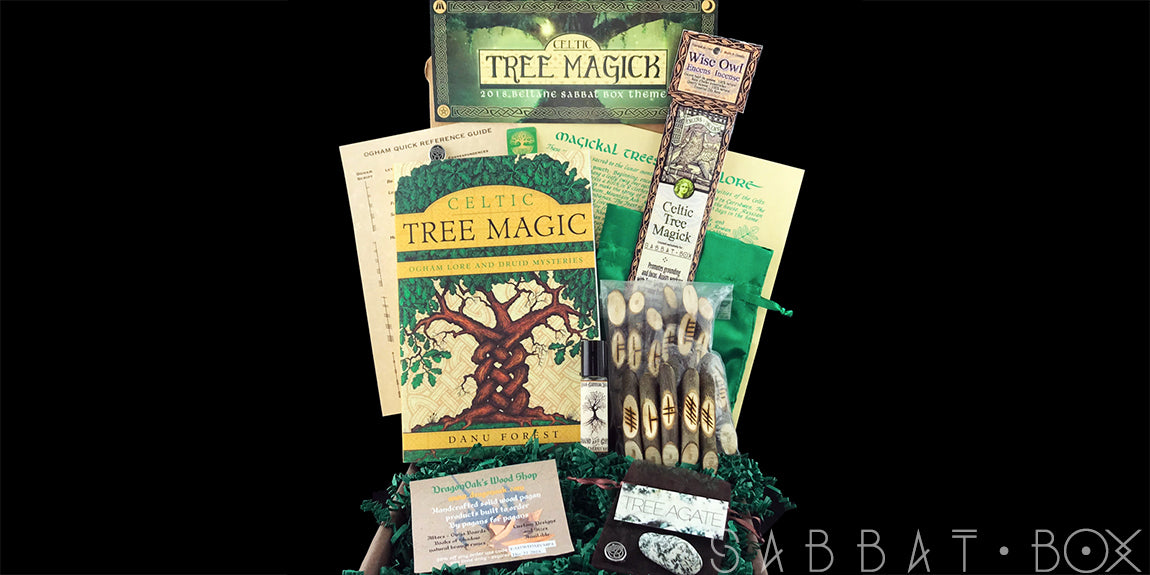 2018 Beltane Sabbat Box Celtic Tree Magick Subscription Box For Witches Wiccans and Pagans