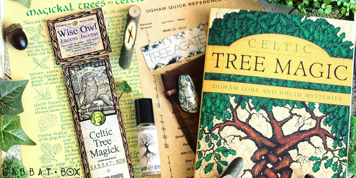 2018 Beltane Sabbat Box Celtic Tree Magick Subscription Box For Pagan Witch Subscription Box Wiccan Subscription Box