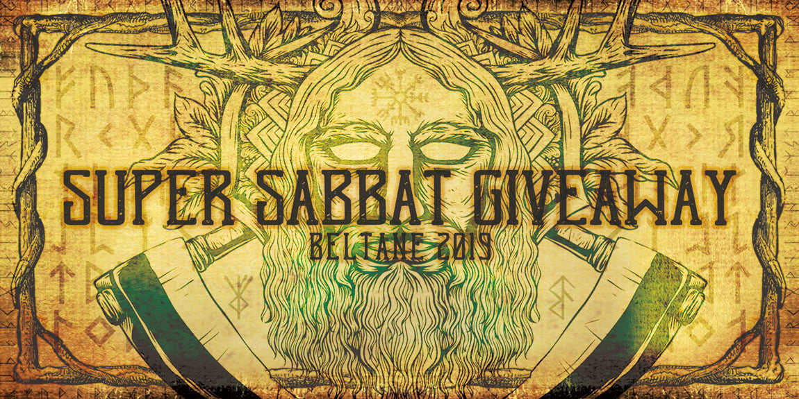 2019 Beltane Super Sabbat Giveaway Registration Page