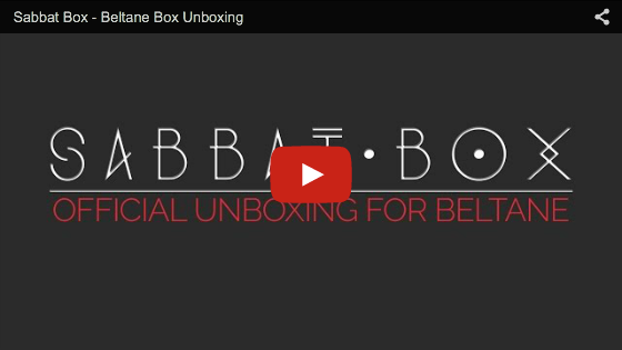 Sabbat Box Beltane Unboxing Video