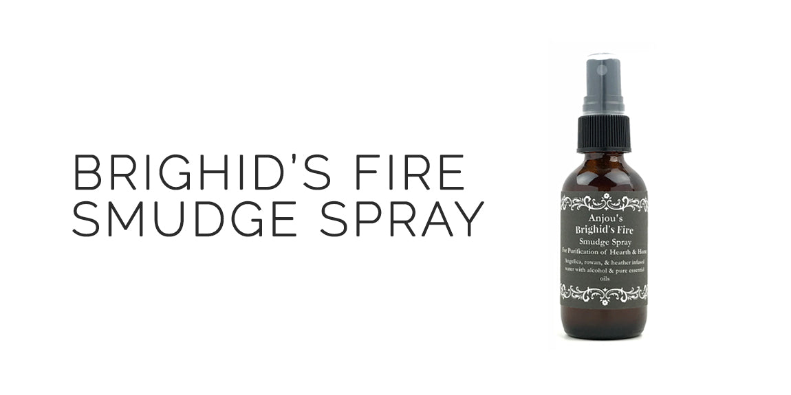 Brighid's Fire Smudge Spray By Light of Anjou