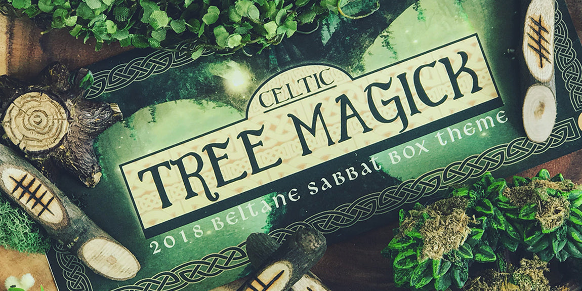 2018 Beltane Sabbat Box - Celtic Tree Magick