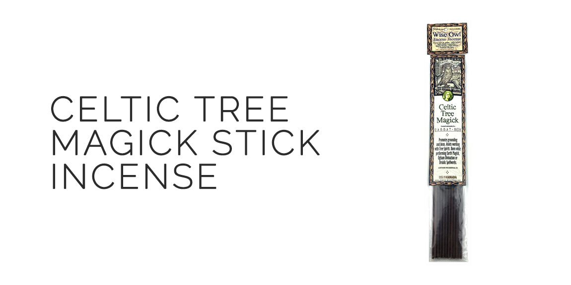 Celtic Tree Magick Stick Incense By Charme Et Sortilege - Beltane Sabbat Box