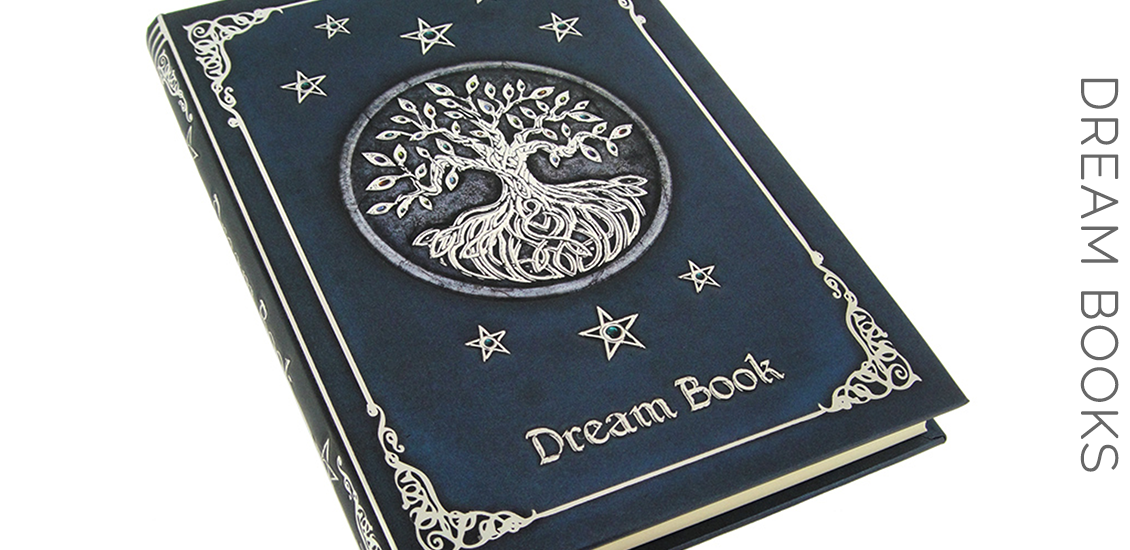 Embossed Celtic Tree of Life Dream Book - Dream Journal - Sabbat Box