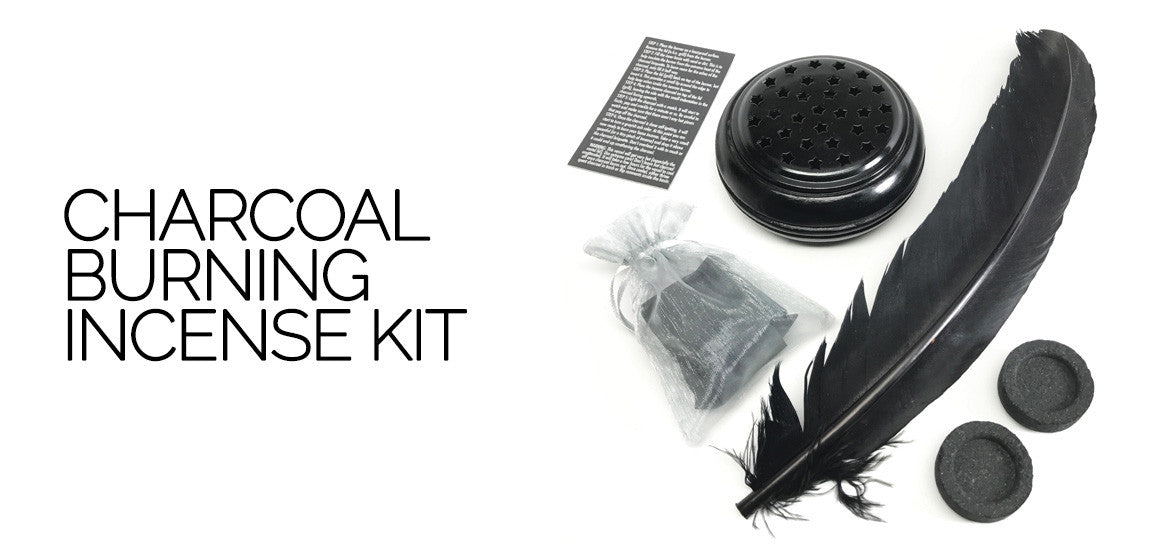 Charcoal Burning Incense Kit
