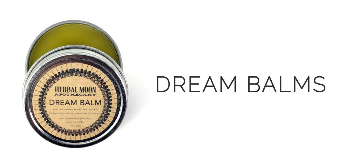 Dream Balms By Herbal Moon Apothecary - Sabbat Box Herbal Witchery