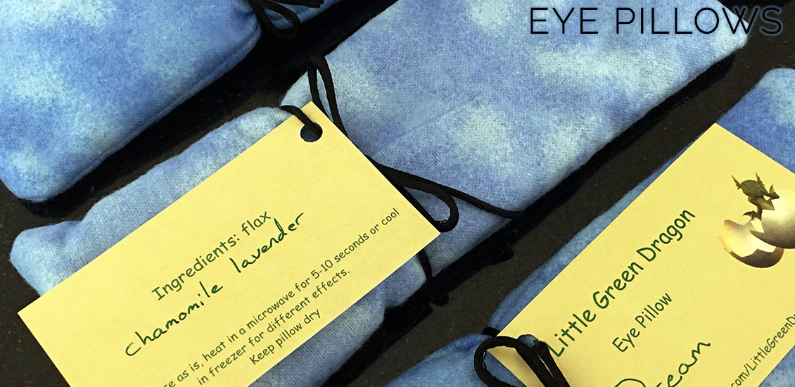Dream Eye Pillow By The Little Green Dragon - Sabbat Box