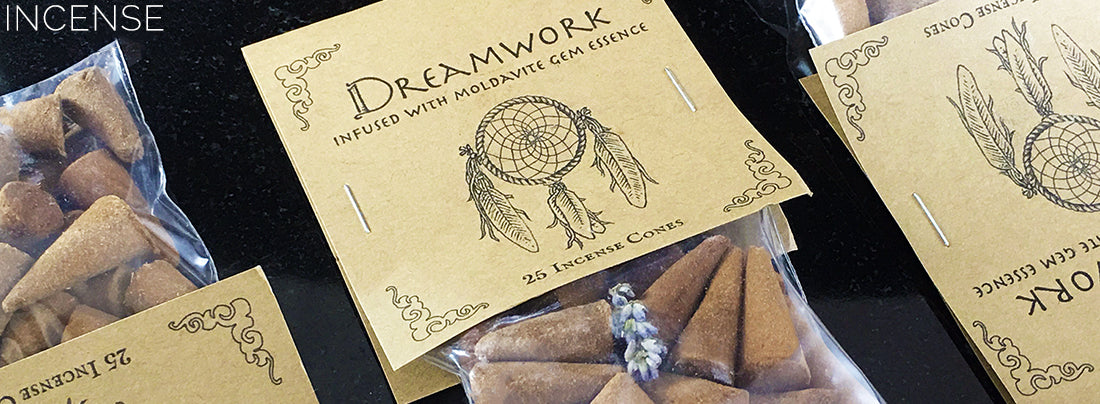 Dreamwork Cone Incense by Higher Mind Incense - Sabbat Box