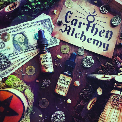 Prosperity Anointing Oil By Earthen Alchemy - Featured inside the 2019 Ostara Sabbat Box