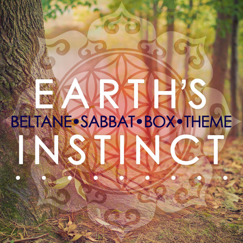 Earth's Instinct Beltane Sabbat Box - Subscription Box For Pagans