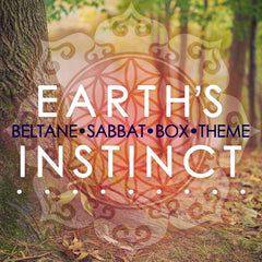 Earth's Instinct - Beltane Sabbat Box 2016