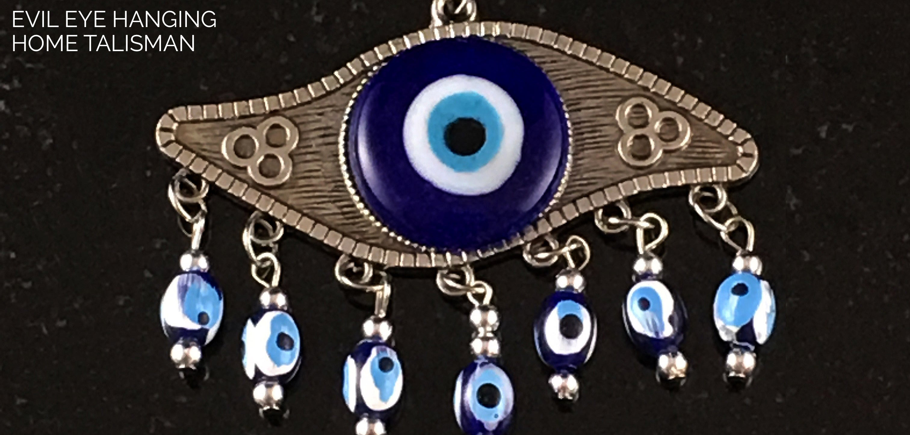 Evil Eye Hanging Home Talismans - Sabbat Box Store