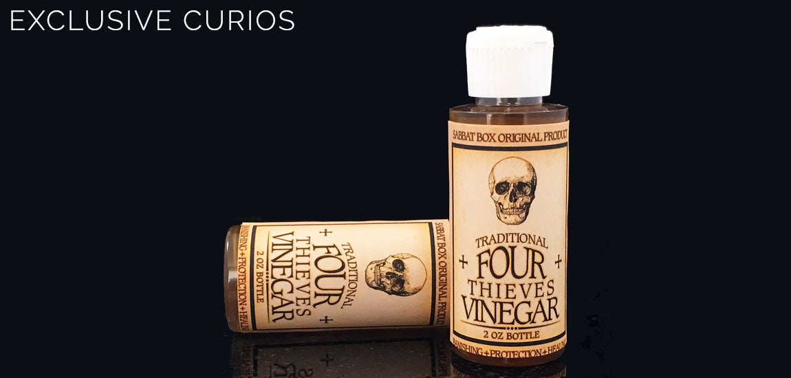 Traditional Four Thieves Vinegar - Sabbat Box Exclusive Product