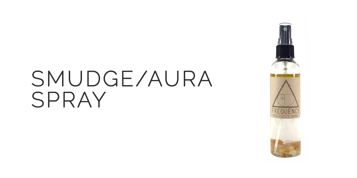 Positivity Smudge and Aura Spray By Frequency